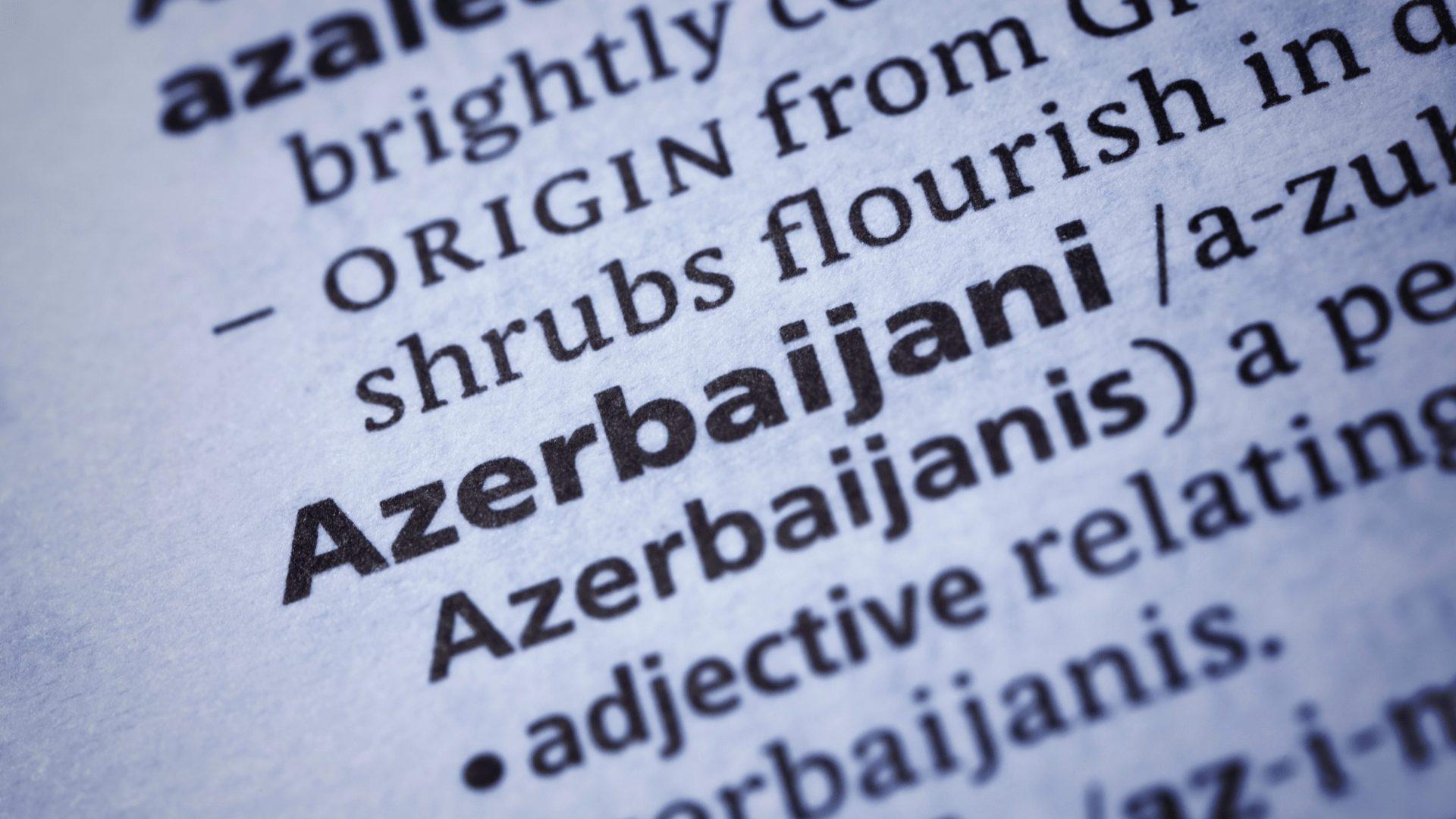 Azerbaijani Translation